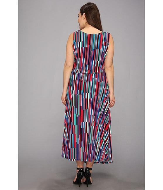 Multi-Color Maxi Dress by Calvin Klein