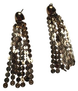 Anthropologie Anthropologie Gold Chain Chandelier Earrings