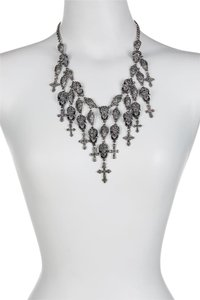 Eye Candy Los Angeles Eye Candy Fringe Skull My Neck Layered Skulls Necklace
