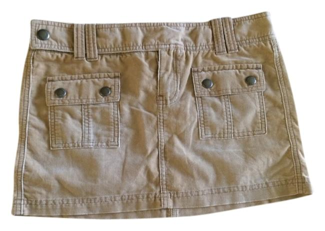 Abercrombie & Fitch Skirt Camel Brown
