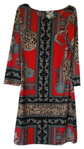 Erow short dress Red multi on Tradesy