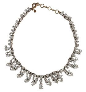 J.Crew JCrew Crystal Necklace with dust bag