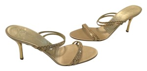 St. John 4 Thin Foot Straps Gold Sandals