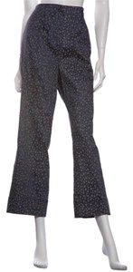 Chanel Wide Leg Pants Dark Blue