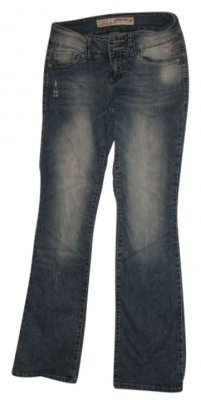 Grane Boot Cut Jeans-Distressed