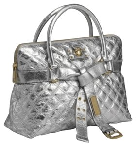 Marc Jacobs Shoulder Chanel Gucci Satchel in Silver