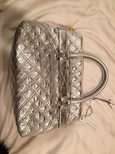 Marc Jacobs Chanel Gucci Fendi Saint Laurent Louis Vuitton Satchel in Silver