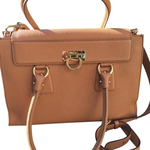Salvatore Ferragamo Satchel in Tan