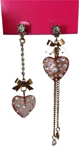 Betsey Johnson Betsey Johnson Mismatch Lucite Earrings