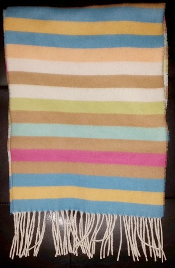 Other Winter scarf with multi-color stripes