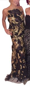 Donna Karan Gown Open-back Gown Hand-embroidered Dress