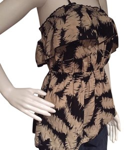 Elle Top Brown