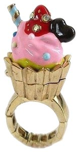 Betsey Johnson Betsey Johnson Paris Is Always A Good Idea Cupcake Ring