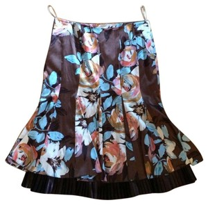 Karen Millen Silk Skirt Multi