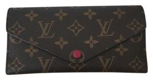 Louis Vuitton 2015 Louis Vuitton Josephine Wallet fuchsia
