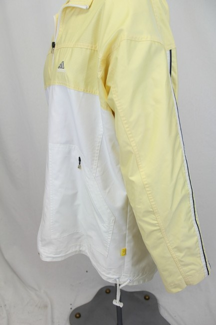 Adidas Yellow & White Jacket
