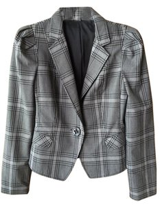 Express Black/White plaid Blazer