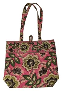 Vera Bradley Tote in Pink, Paisley, Patterned