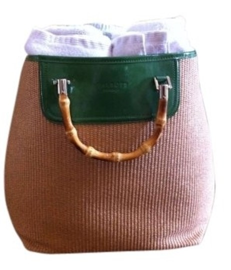 Preload https://item2.tradesy.com/images/talbots-spring-tangrass-green-woven-tote-155371-0-0.jpg?width=440&height=440
