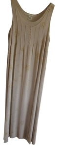 Beige Maxi Dress by Banana Republic Maxi