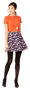 Kate Spade Pleated Mini Skirt multi