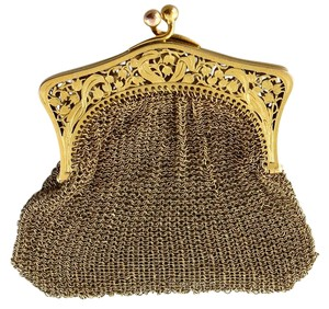 Antique Gold Coin Purse Antique Coin Purse Made Of 14K Solid Yellow Gold.
