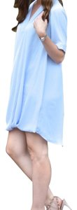 Topshop short dress Periwinkle on Tradesy