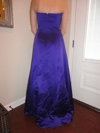David's Bridal Regency Satin 8567 Formal Bridesmaid/Mob Dress Size 6 (S)