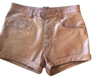 Other Cuffed Shorts Brownish