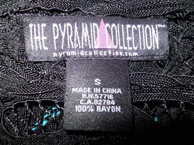 The Pyramid Collection Lace Battengerg Cardigan