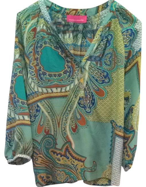 Preload https://item3.tradesy.com/images/pookie-and-sebastian-multicolor-blouse-size-4-s-1553952-0-0.jpg?width=400&height=650