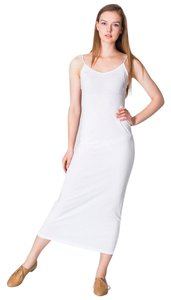 White Maxi Dress by American Apparel