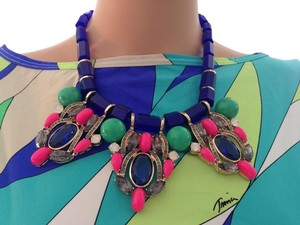 J.Crew Bright J. Crew Statement Necklace