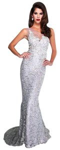 Mac Duggal Couture Designer Evening Size 10 Lilac Dress