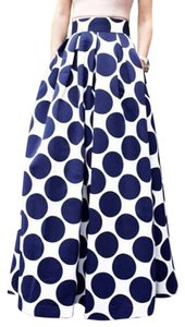 Maxi Skirt Blue & White