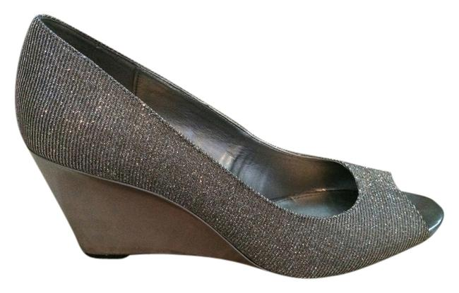 Item - Silver Tufflove Formal Shoes Size US 10 Regular (M, B)