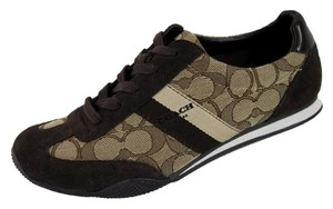 Coach Signature Sneakers Kelson Tennis Brown Athletic