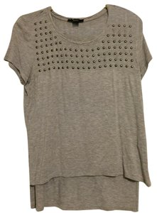 Forever 21 Studded Top Gray