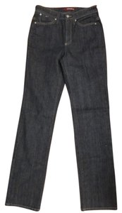 Cambio Straight Leg Jeans-Medium Wash