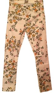 Citizens of Humanity Floral Straight Leg Jeans