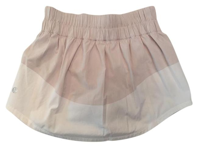 Item - Beige and White Tennis Skirt/Shorts Activewear Bottoms Size 2 (XS, 26)