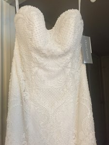Oleg Cassini Cwg641 Wedding Dress