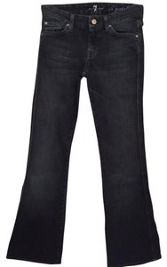 7 For All Mankind Sequin Boot Cut Jeans-Dark Rinse