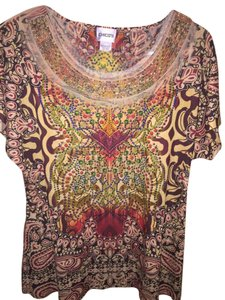 Chico's T Shirt Multi