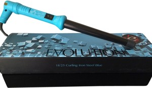 Evalectric The New Evolution 18/25 Curling Iron Steel Blue