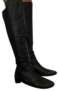 MICHAEL Michael Kors Trendy Leather Black Boots