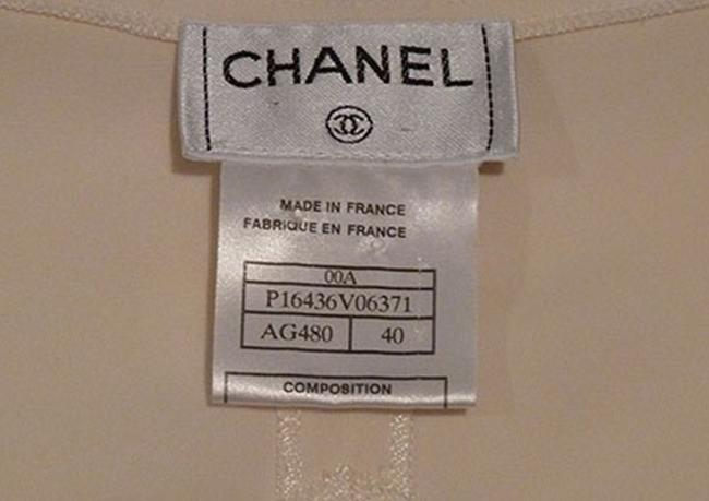 Chanel Top Cream Image 4