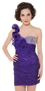Mac Duggal Couture Lace Designer Dress