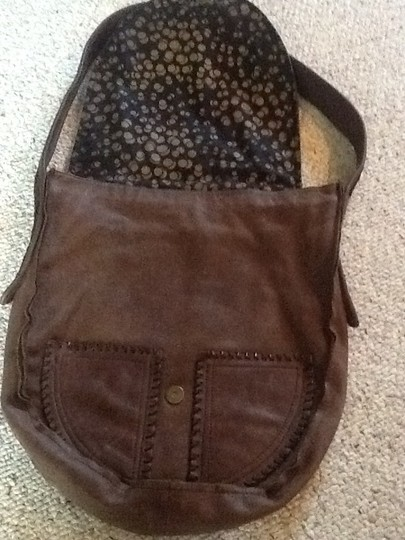House of Harlow 1960 Western Leather Calfskin Hobo Bag