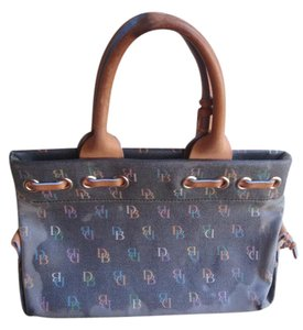 Dooney & Bourke Clutches Satchel in dark blue gray
